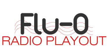 flu O radio playout logo