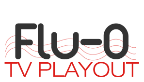 flu O tv playout logo