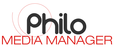philo media manager logo